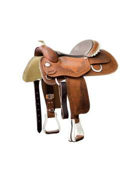 SELLA WESTERN DA REINING POLL'S BUTTERFLY GENUINE-10331