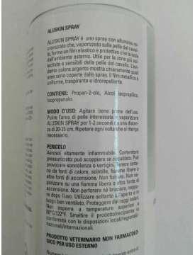 ALUSKIN SPRAY CON ALLUMINIO MICRONIZZATO PER FERITE-10802