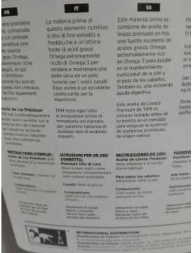 OLIO DI LINO TRM PREMIUM LINSEED OIL-11098