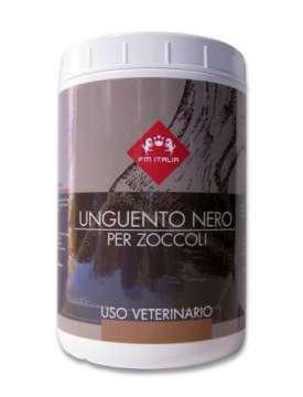GRASSO UNGUENTO PER ZOCCOLI COLORE NERO FM ITALIA DA 1000 ML-1227