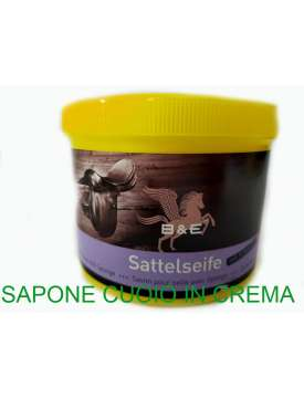 SAPONE PER CUOIO IN CREMA CON SPUGNETTA-12627
