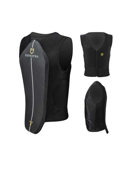 PARASCHIENA DORSALE EQUESTRO SAFETY VEST ADULTO