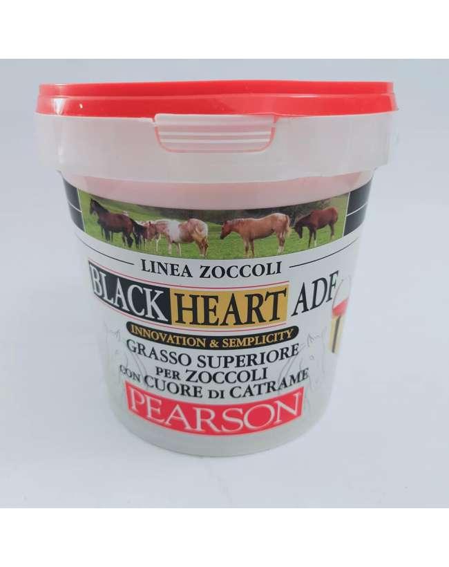 GRASSO PEARSON BLACK HEART CON CATRAME
