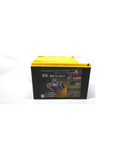 BATTERIA PER RECINTO 5000 ORE BI-POWER