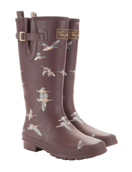 STIVALI JOULES WELLY PRINTED ANATRE