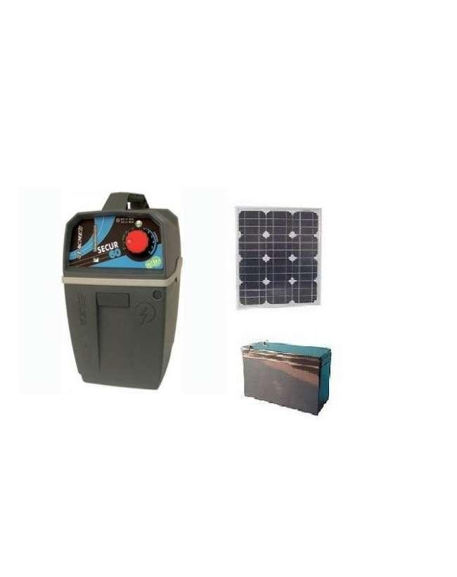 Pannello Solare Per Recinto Elettrico : Recinto per cavalli con pannello solare equigold