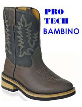 STIVALE WESTERN PRO TECH DA BAMBINO-1848