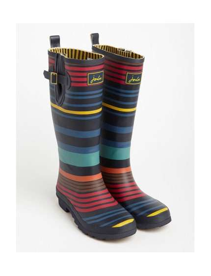 STIVALI JOULES WELLY PRINTED