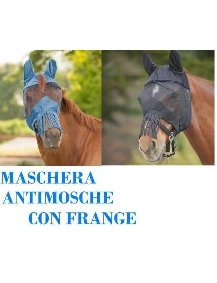 MASCHERA ANTIMOSCHE CON FRANGE
