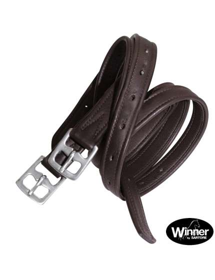 STAFFILI INGLESI IN PELLE INTERNO NYLON WINNER