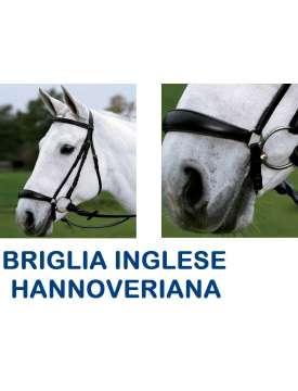 BRIGLIA INGLESE IN CUOIO CAPEZZINO HANNOVER-4887