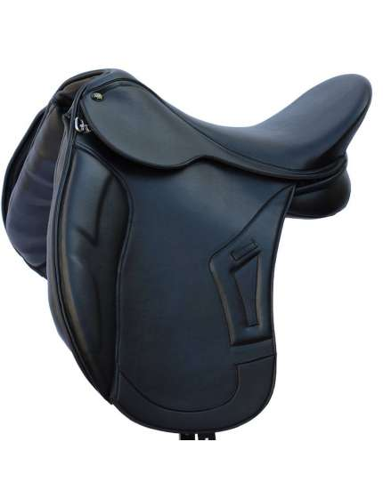 SELLA DA DRESSAGE IN CUOIO WINNER SARTORE CON ARCIONE MODIFICABILE