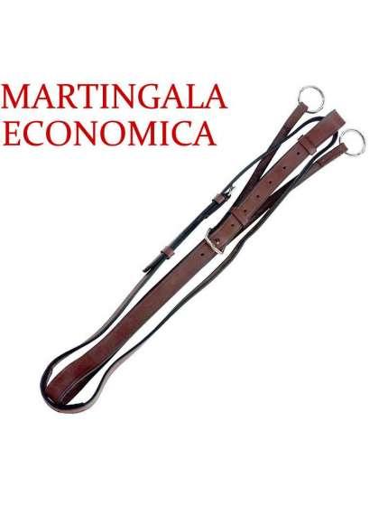 MARTINGALA INGLESE A COLLIER ECONOMICA FIBBIE E ANELLI METALLO