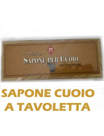 SAPONE PER CUOIO FM ITALIA  A TAVOLETTA