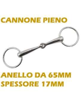 FILETTO AD ANELLI INOX SPESSORE 17MM PIENO-8490