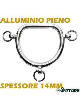 CHIFNEY DA PRESENTAZIONE IN ALLUMINIO PIENO LEGGERO-8555