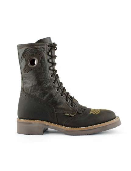 STIVALI WESTERN BILLY BOOT LASER IN CUOIO INGRASSATO