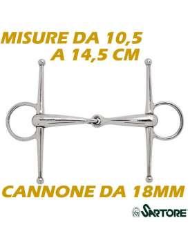 FILETTO AD ASTE INOX VUOTO DA 18MM MISURE DA 10,5 A 14,5-8605