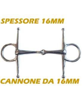 FILETTO AD ASTE INOX CANNONE PIENO DA 16MM-8606