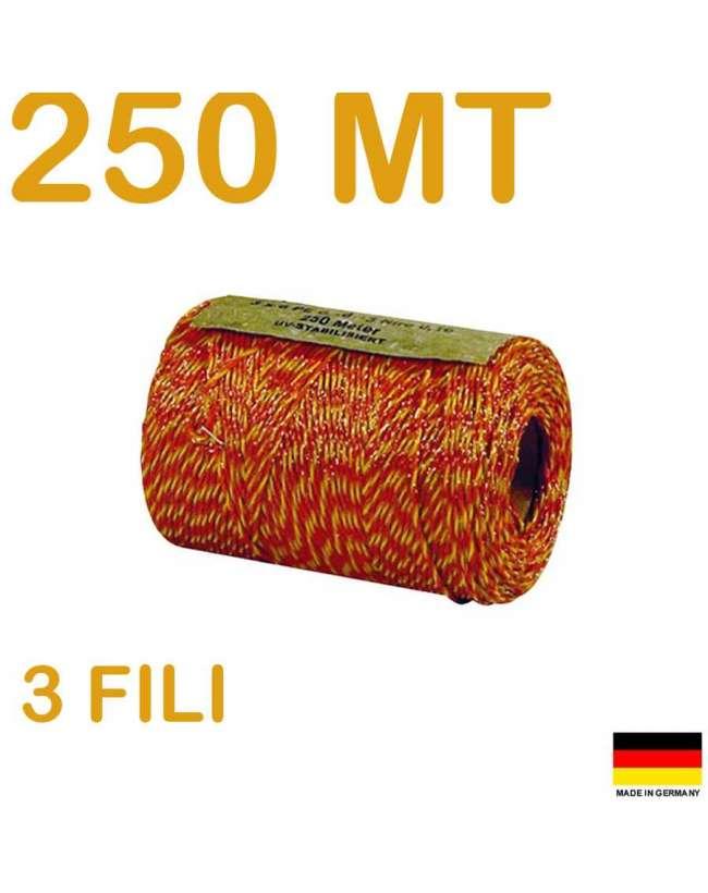 FILO ELETTRICO PER RECINZIONE METRI 250