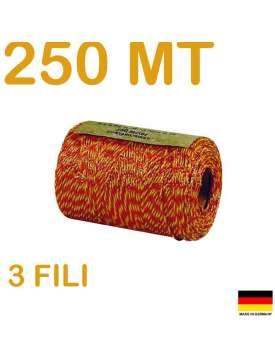 FILO ELETTRICO PER RECINZIONE METRI 250-8808